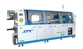 大型无铅全自动氮气波峰焊机STR-BFH-LEED
